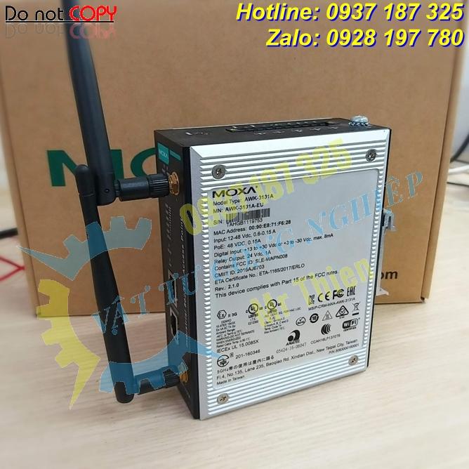 AWK-3131A , Moxa Vietnam , Bộ thu phát tín hiệu wireless công nghiệp ,