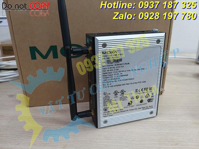 AWK-3131A , Moxa Vietnam , Bộ thu phát tín hiệu wireless công nghiệp , - 2