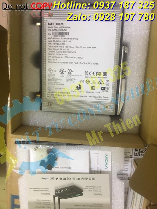 AWK-3131A , Moxa Vietnam , Bộ thu phát tín hiệu wireless công nghiệp , - 4