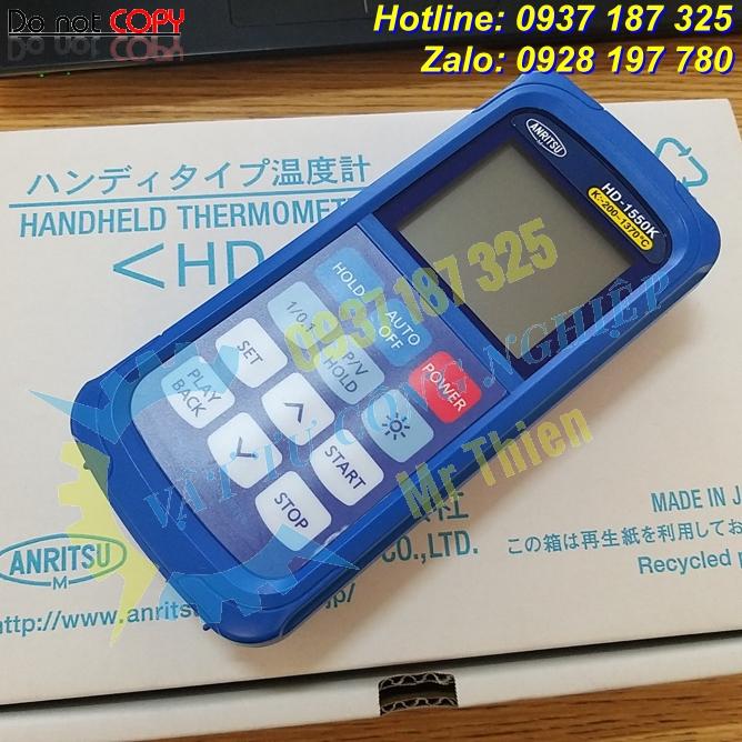 HD-1250K , Anritsu Vietnam , Thiết bị đo nhiệt độ cầm tay ,