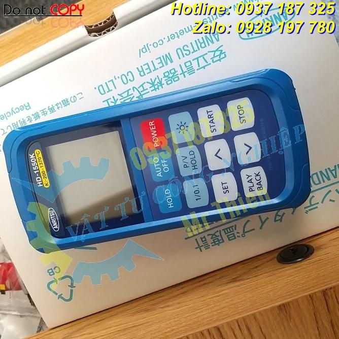 HD-1250K , Anritsu Vietnam , Thiết bị đo nhiệt độ cầm tay , - 2